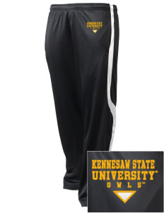 Kennesaw State University Owls Embroidered Holloway Men's Tricotex Warm Up Pants