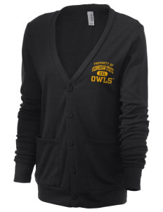 Kennesaw State University Owls Unisex 5.6 oz Triblend Cardigan