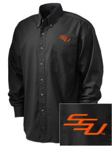 Savannah State University Tigers Embroidered Men's Twill Shirt