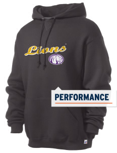 University of North Alabama Lions Russell Men's Dri-Power Hooded Sweatshirt