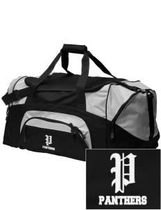 Salmon Bay Panthers Embroidered Colorblock Duffel Bag