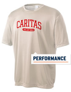 Caritas Academy The Lady Eagle Men's Competitor Performance T-Shirt