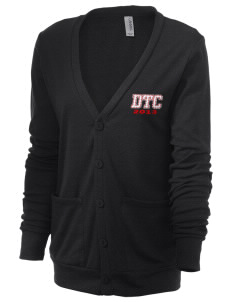 The DTC The DTC Unisex 5.6 oz Triblend Cardigan with Distressed Applique