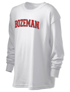 Bozeman Bozeman Kid's 6.1 oz Long Sleeve Ultra Cotton T-Shirt