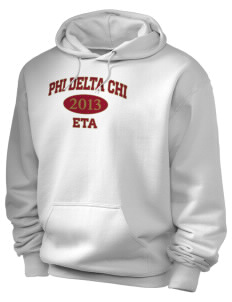 Phi Delta Chi Holloway Men's 50/50 Hooded Sweatshirt