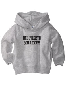 Del Puerto High School Bulldogs  Toddler Fleece Hooded Sweatshirt with Pockets