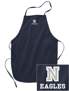 Northlake Elementary School Eagles Embroidered Full Length Apron