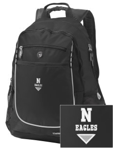 Northlake Elementary School Eagles Embroidered OGIO Carbon Backpack