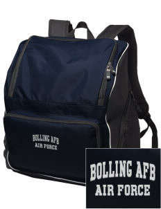 Bolling AFB Embroidered Holloway Backpack
