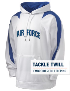 Nellis AFB Holloway Men's Sports Fleece Hooded Sweatshirt with Tackle Twill