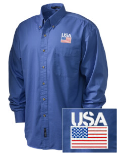 Kirtland AFB Embroidered Tall Men's Twill Shirt