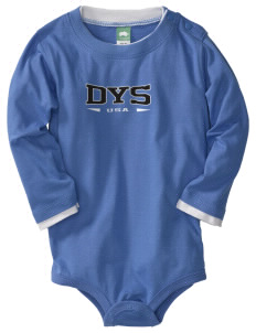 Dyess AFB  Baby Long Sleeve 1-Piece with Shoulder Snaps