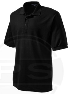 Anniston Army Depot Embroidered Tall Men's Silk Touch Polo