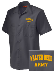 Walter Reed Army Medical Center Embroidered Men's Cornerstone Industrial Short Sleeve Work Shirt