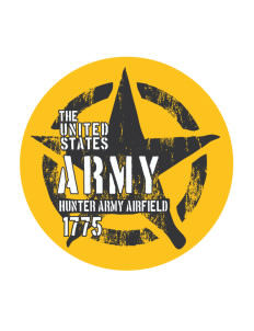 Hunter Army Airfield Sticker