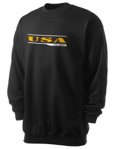 Fort Stewart Men's 7.8 oz Lightweight Crewneck Sweatshirt