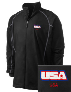 Aberdeen Proving Ground Embroidered Men's Nike Golf Full Zip Wind Jacket