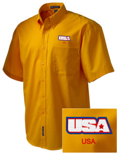 Aberdeen Proving Ground Embroidered Men's Easy Care Shirt