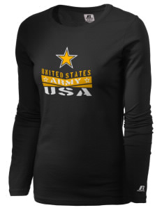 Fort Meade  Russell Women's Long Sleeve Campus T-Shirt