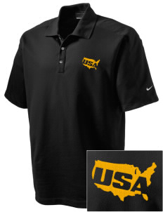 Fort Meade Embroidered Nike Men's Dri-FIT Pique II Golf Polo