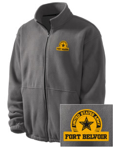 Fort Belvoir Embroidered Men's Fleece Jacket