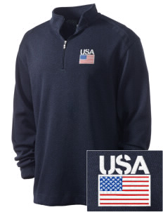 Fort Belvoir Embroidered Nike Men's Golf Heather Cover Up