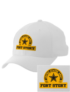 Fort Story Embroidered Pro Model Fitted Cap