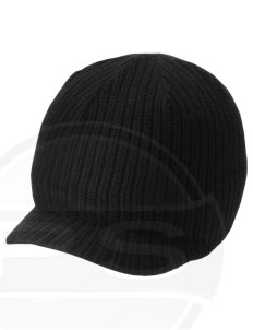 Fort Story Embroidered Knit Beanie with Visor