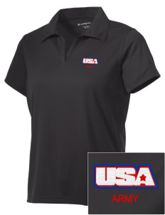 Bluegrass Army Depot Embroidered Women's Double Mesh Polo