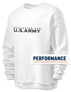 Mcalester Army Ammunition Plant  Russell Men's Dri-Power Crewneck Sweatshirt