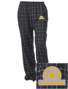 Picatinny Arsenal Embroidered Unisex Button-Fly Collegiate Flannel Pant