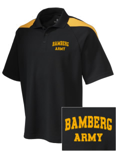 Bamberg Embroidered Holloway Men's Frequency Performance Pique Polo