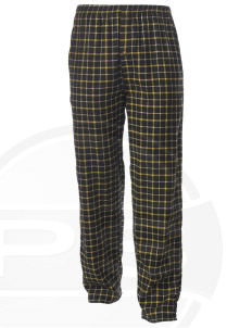 Baumholder Embroidered Men's Button-Fly Collegiate Flannel Pant
