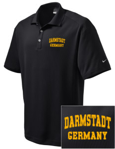 Darmstadt Embroidered Nike Men's Dri-Fit Classic Polo