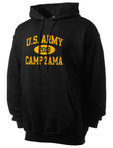 Camp Zama Men's 7.8 oz Lightweight Hooded Sweatshirt