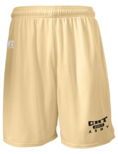 "Camp Hienry-Taegu  Russell Men's Mesh Shorts, 7"" Inseam"