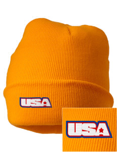 Camp Humphreys Embroidered Knit Cap