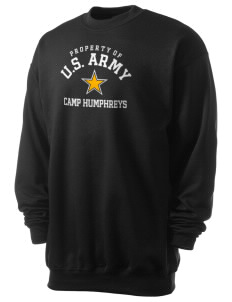Camp Humphreys Men's 7.8 oz Lightweight Crewneck Sweatshirt