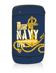 Corpus Christi Naval Air Station Black Berry 8530 Curve Skin