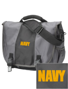 Bremerton Naval Station  Embroidered Montezuma Messenger Bag