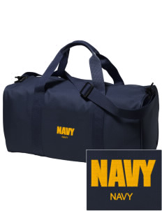 Diego Garcia Atoll Navy Support Facility Embroidered Holloway Duffel Bag