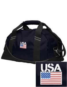 Diego Garcia Atoll Navy Support Facility Embroidered OGIO Half Dome Duffel