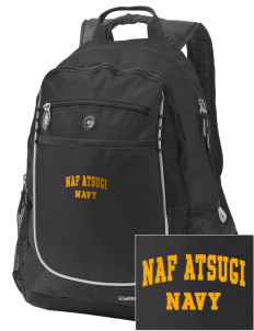 Atsugi Naval Air Facility Embroidered OGIO Carbon Backpack