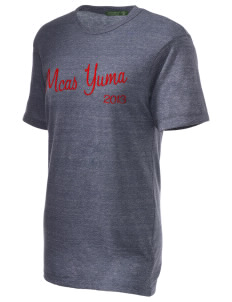 Yuma Marine Corps Air Station Embroidered Alternative Unisex Eco Heather T-Shirt