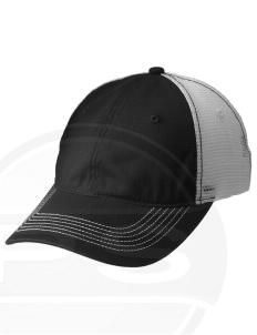 Elizabeth City CG Support Center Embroidered Mesh Back Cap