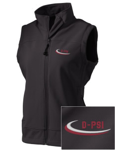 Delta Psi Alpha  Embroidered Women's Glacier Soft Shell Vest
