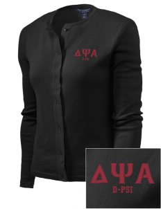 Delta Psi Alpha Embroidered Women's Cardigan Sweater