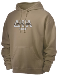 Delta Psi Alpha Men's 80/20 Pigment Dyed Hooded Sweatshirt