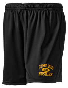 "Olympic Hills Elementary School Huskies Holloway Women's Performance Shorts, 5"" Inseam"