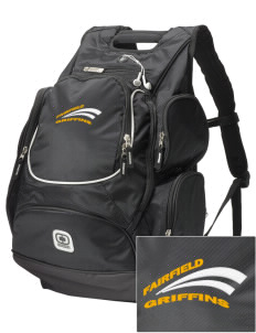 Fairfield Middle School Griffins  Embroidered OGIO Bounty Hunter Backpack